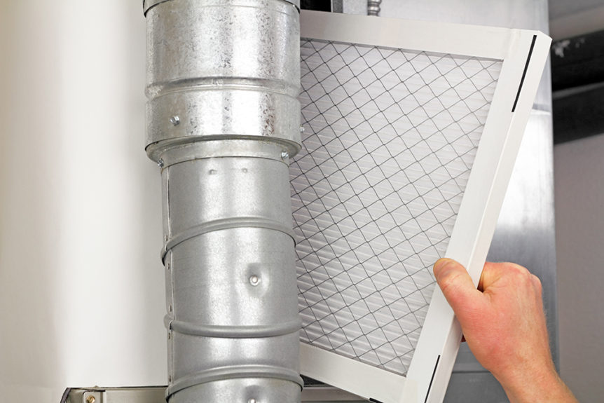 a furnace filter replacement for furnace preparation